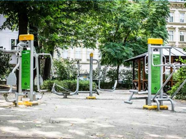 FreeGym - Josef-Strauss Park