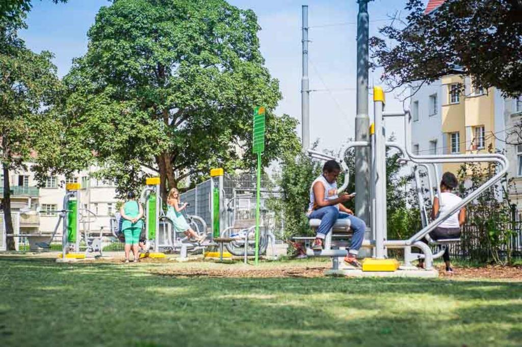 FreeGym - 1100 Wasserturmpark