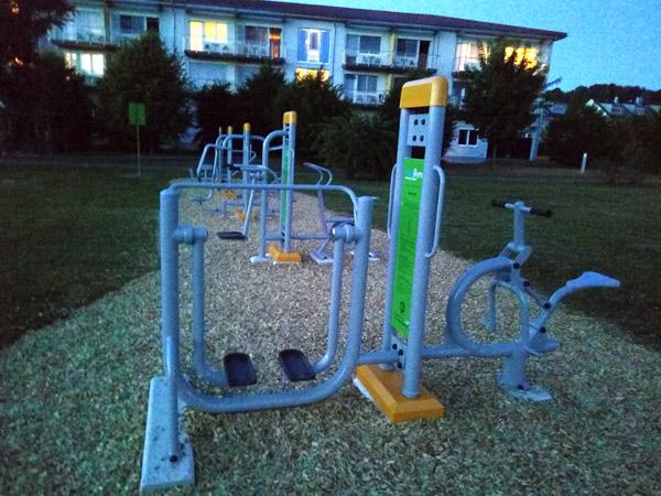 FreeGym   fitness im Freien - Wilhering
