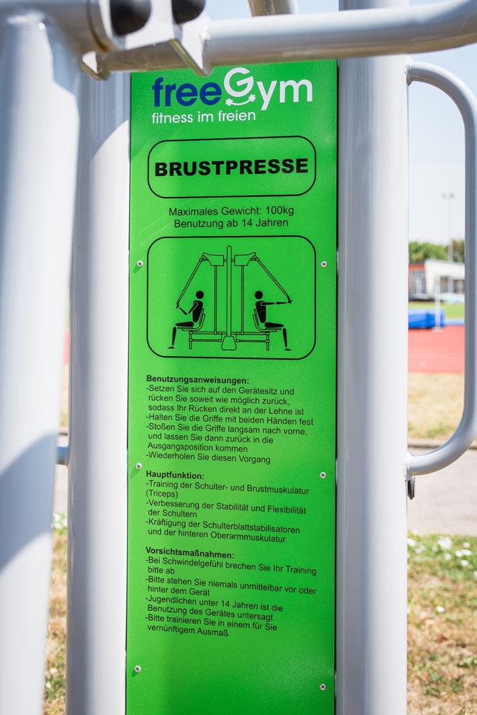 FreeGym Geräte - Brustpresse