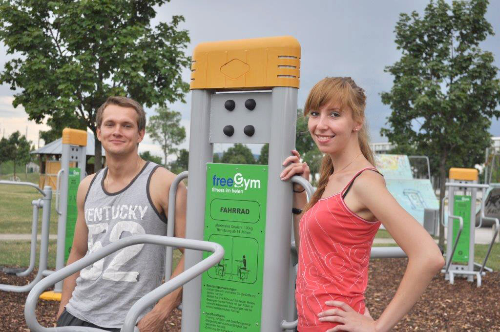 FreeGym Geräte - Fahrrad