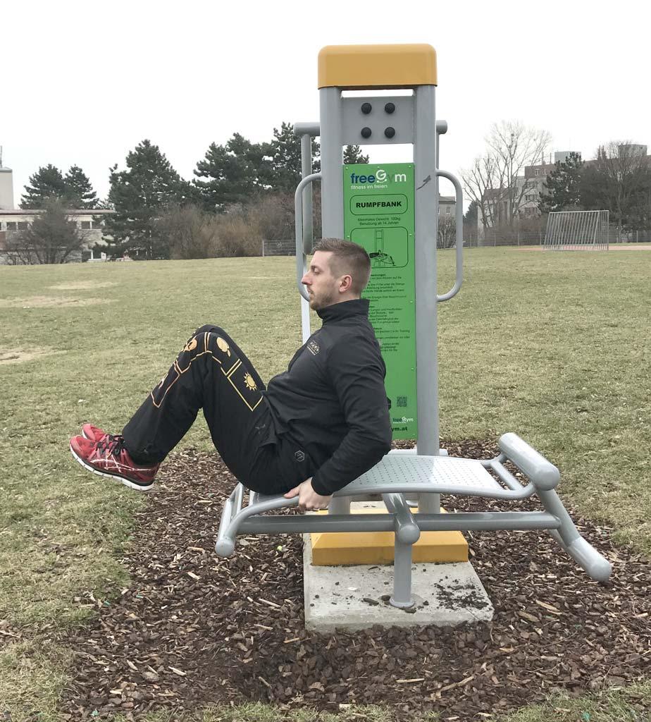 FreeGym Geräte - Rumpfbank