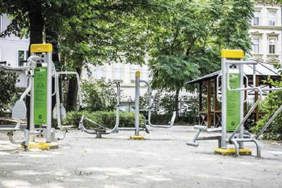 Aufstellung Ungezwungen - Wien, 7. Bezirk, Josef-Strauss Park